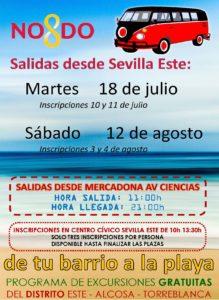 Viaja a la playa desde Sevilla Este