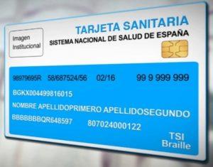 Tarjeta sanitaria única en España