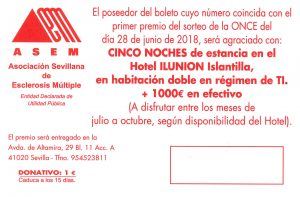 Por sólo 1 € - 5 noches de hotel en régimen TI