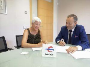 ASEM  firma convenio con Ibercaja