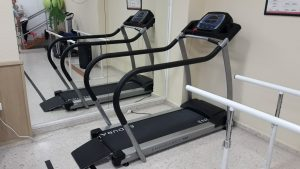 Cinta de andar - Nuevo equipo en sala fisioterapia