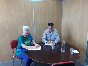 ASEM se reúne con Dtor. General Salud Pública