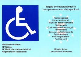Resolución grado discapacidad y tarjeta aparcamiento