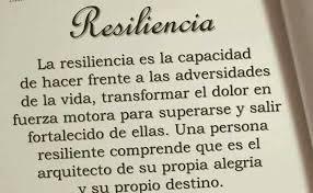 ¿Qué es resiliencia?