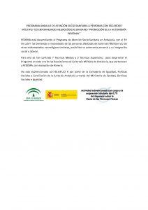 Programa Atención Socio-Sanitaria Andalucía