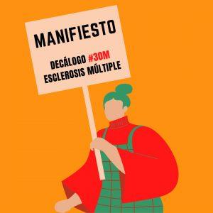 Manifiesto a favor de las personas con ESCLEROSIS MÚLTIPLE